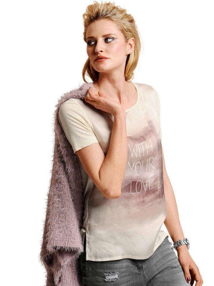 Alba Moda Shirt in offwhite/puder