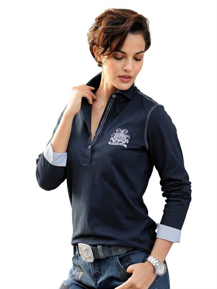 Alba Moda Poloshirt in marine