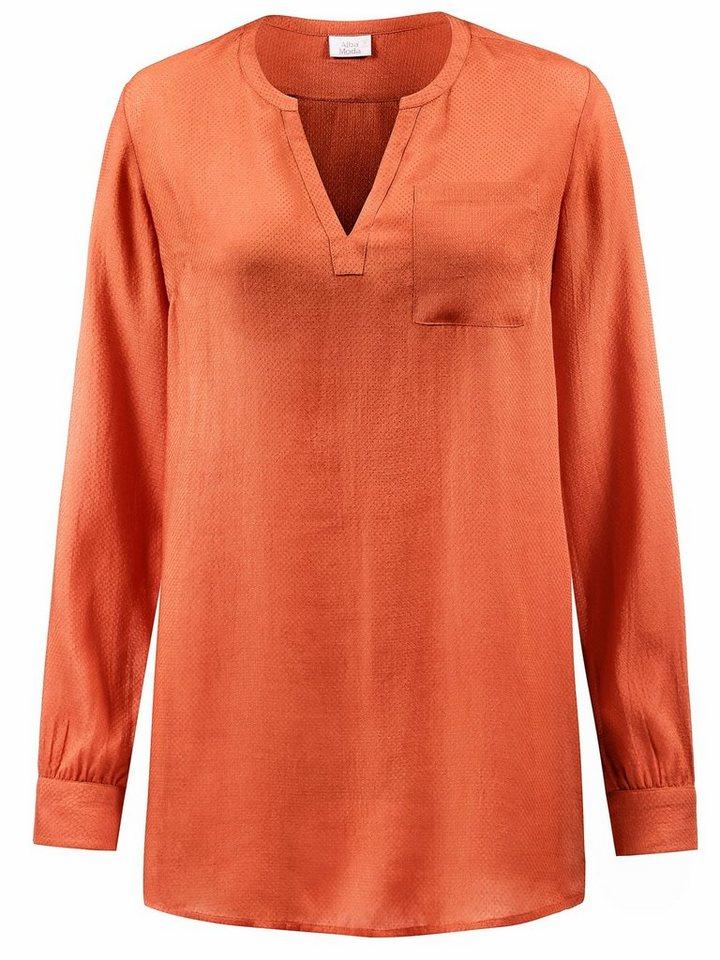 Alba Moda Bluse in orange