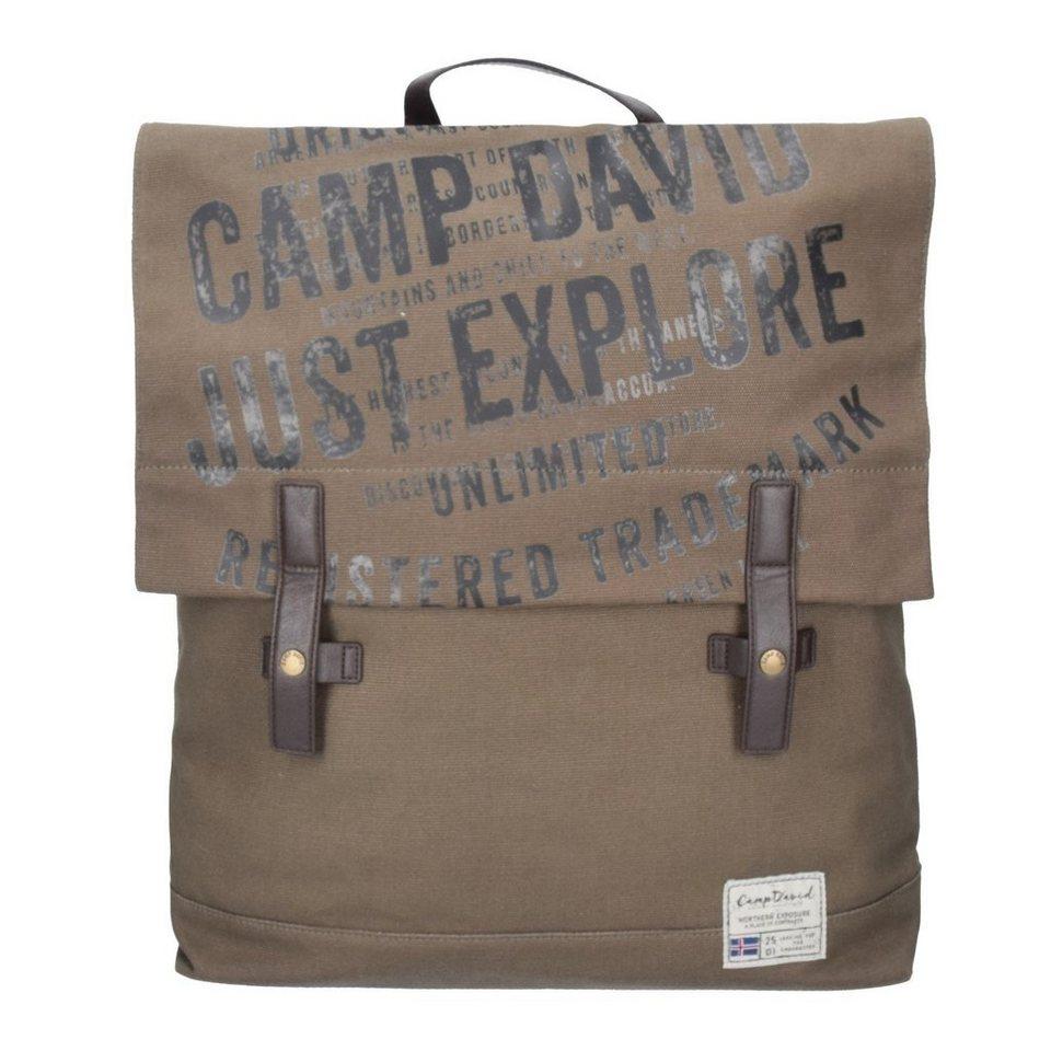 Camp David Yukon River Rucksack 46 cm in khaki