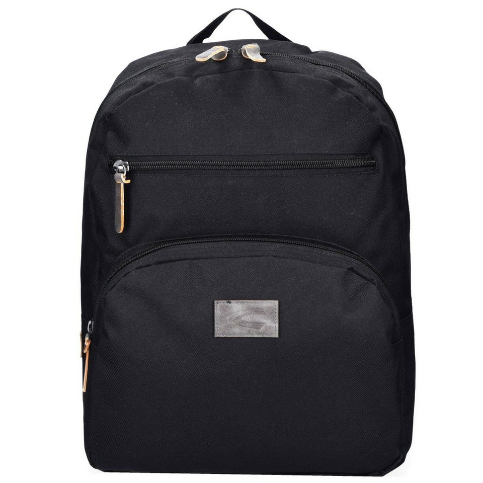 camel active Special Edition Rucksack 42 cm Laptopfach in black