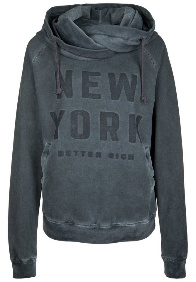 better rich kapuzensweatshirt hoody new york otto. Black Bedroom Furniture Sets. Home Design Ideas