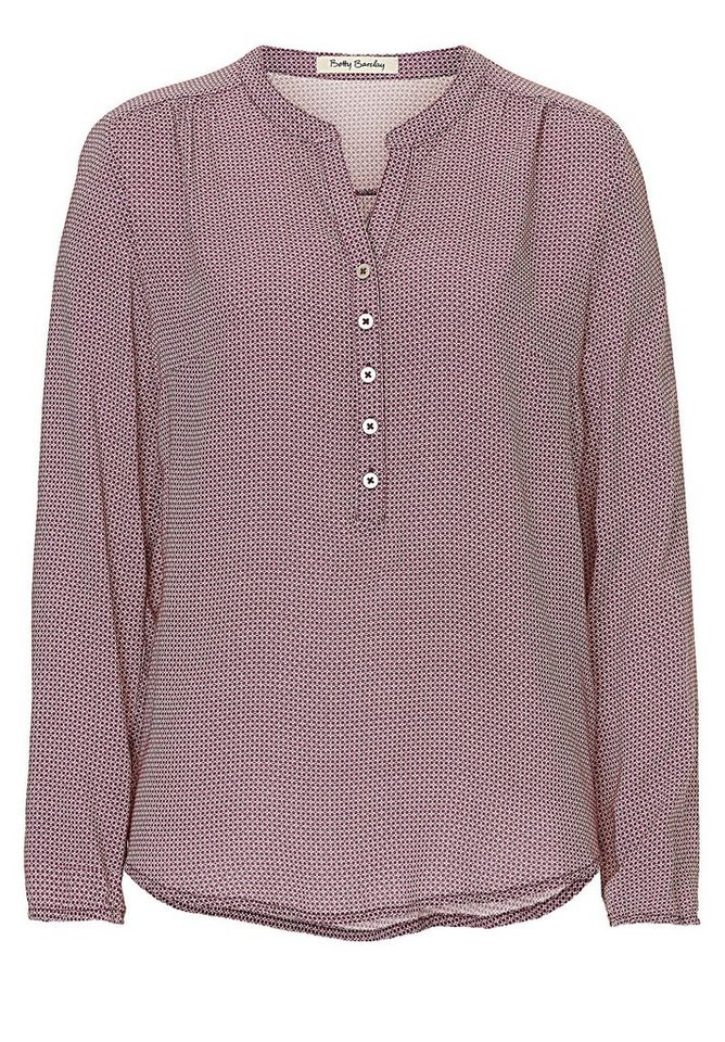 Betty Barclay Bluse in Rosé-Beige - Rot