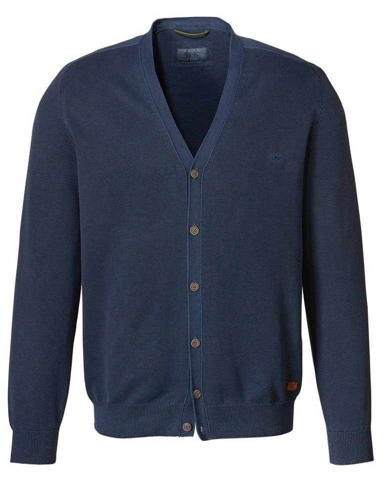 camel active Cardigan in Blau