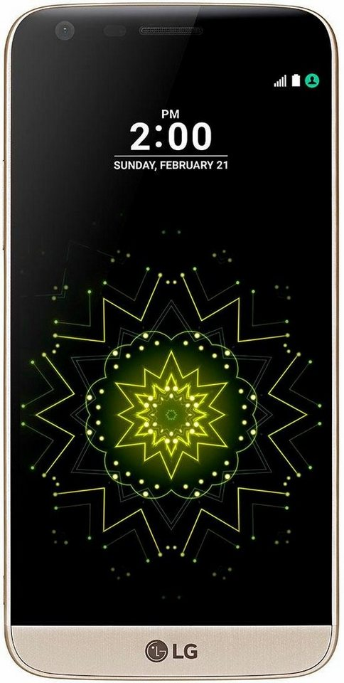 LG G5 SE Smartphone, 13,5 cm (5,3 Zoll) Display, LTE (4G), Android 6.0 (Marshmallow), 16,0 Megapixel in goldfarben