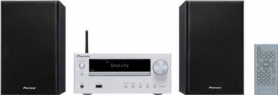Pioneer »X-HM36D« Microanlage (FM-Tuner mit RDS, Digitalradio (DAB), Internetradio, 30 W)
