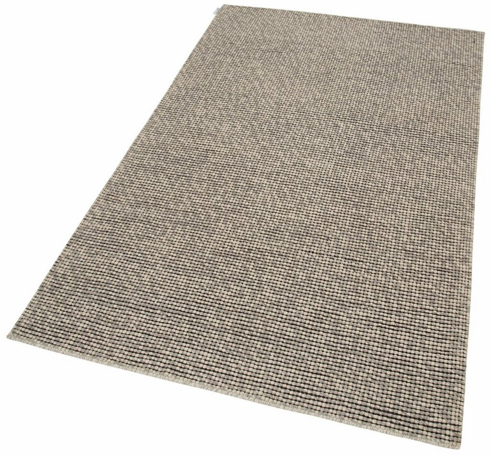Teppich, Calvin Klein Home, »Lowland«, handgewebt in Beige/Grau