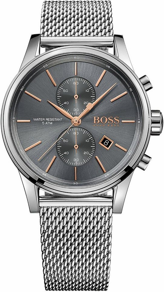 Boss Chronograph »Jet, 1513440« in silberfarben
