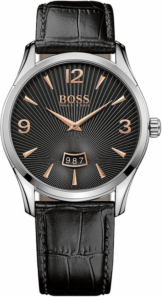 Boss Quarzuhr »Commander, 1513425« in schwarz