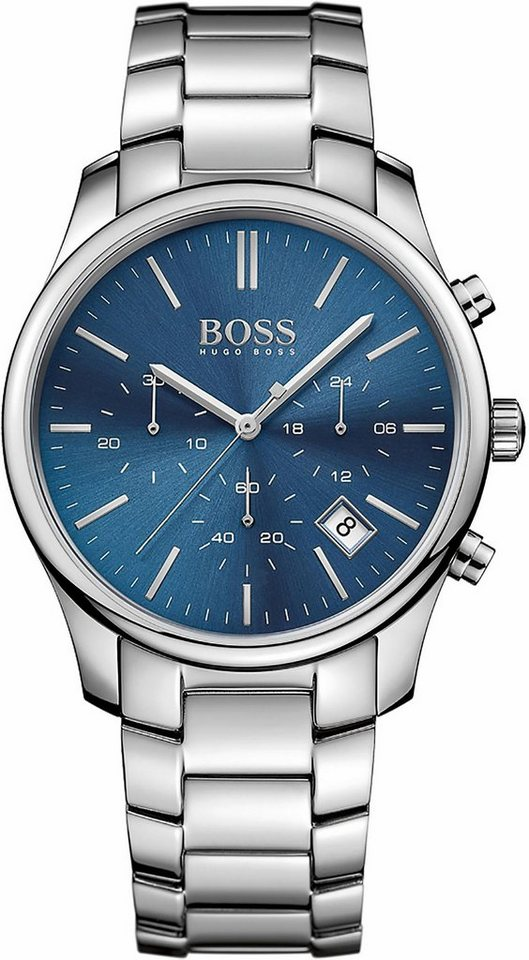 Boss Chronograph »Time One, 1513434« in silberfarben