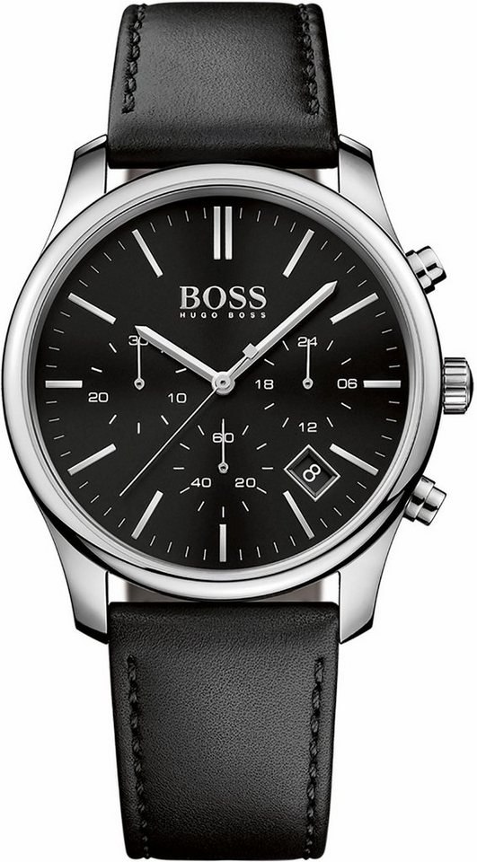 Boss Chronograph »Time One, 1513430« in schwarz