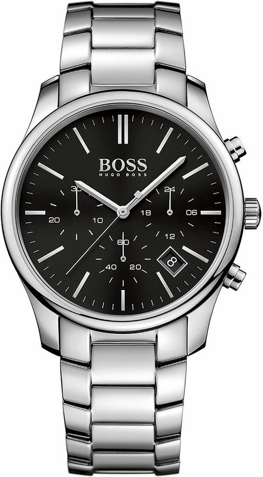 Boss Chronograph »Time One, 1513433« in silberfarben