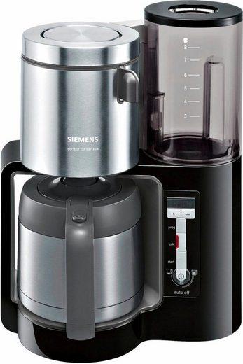 SIEMENS Filterkaffeemaschine Sensor for Senses TC86503, 1,15l Kaffeekanne, Papierfilter 1x4, Wassertank mit Griff