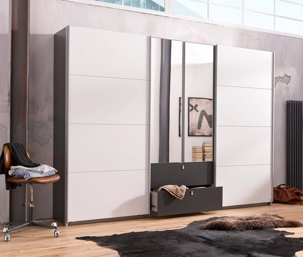 rauch pack s kleiderschrank mit dreh und schwebet ren online kaufen otto. Black Bedroom Furniture Sets. Home Design Ideas