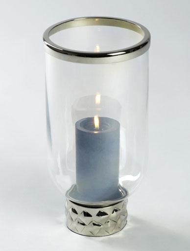 Lambert Windlicht »Helia« in silber