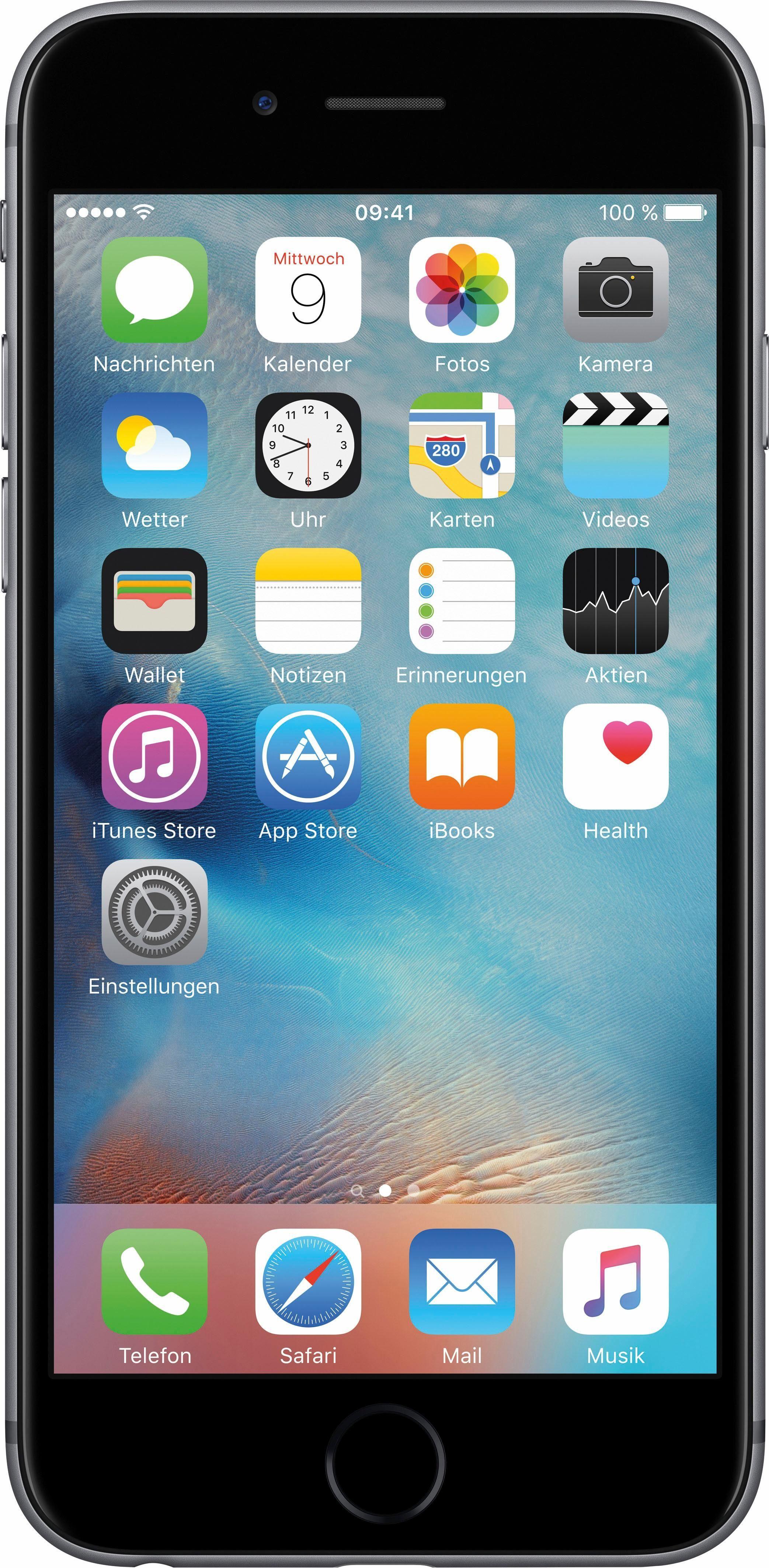 "Apple Apple iPhone 6s 4,7"" 32 GB iPhone 6s (12 cm/4,7 Zoll, 32 GB Speicherplatz)"