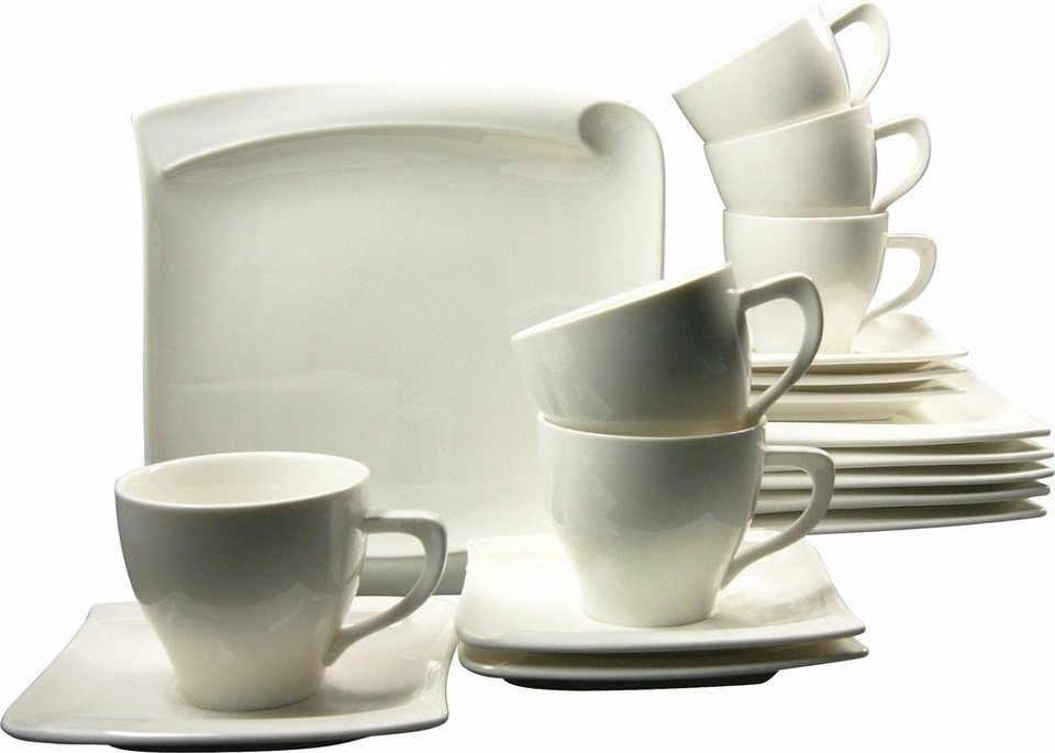 Porzellanserie, »Menue«, CreaTable in weiß