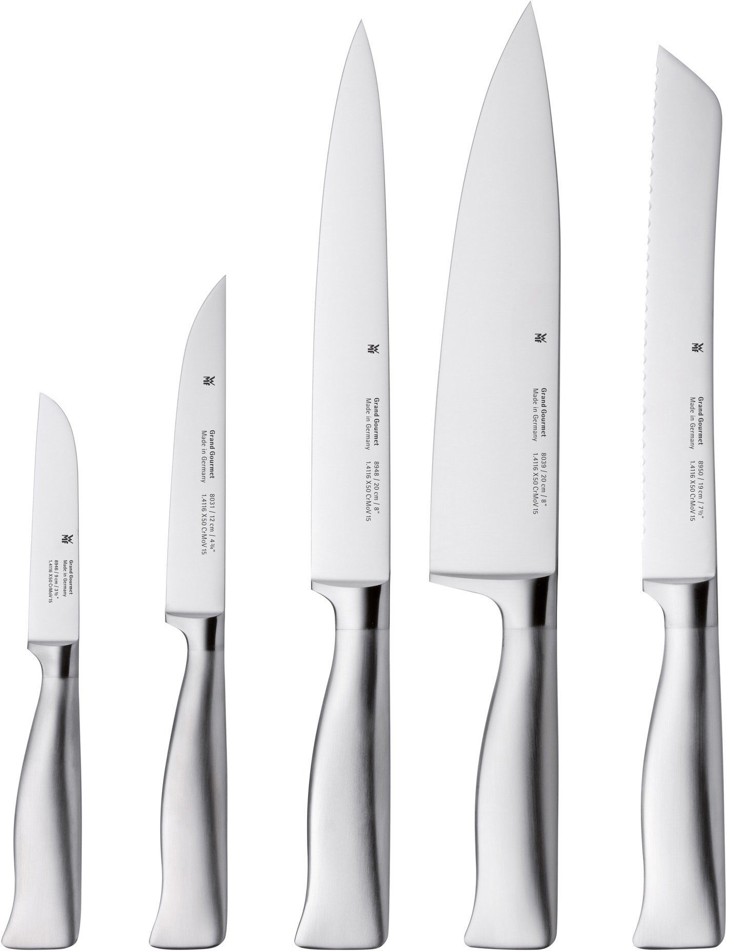 WMF Messer-Set, 5-teilig, »GRAND GOURMET«