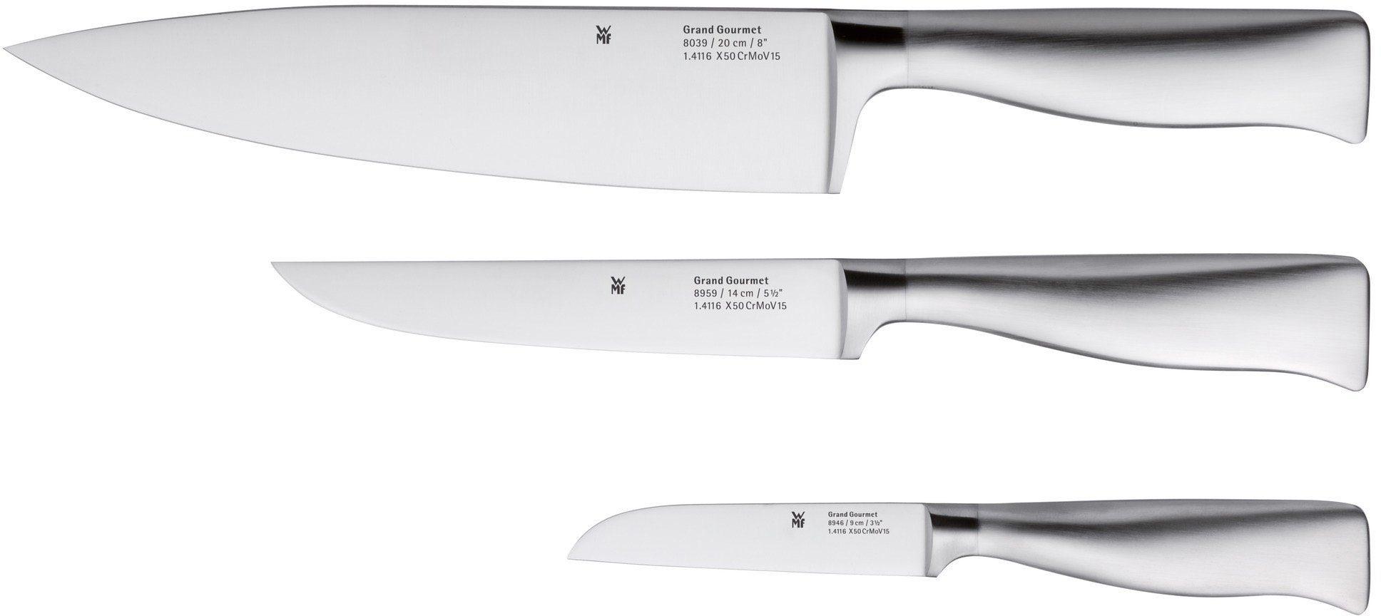 WMF Messer-Set, 3-teilig, »GRAND GOURMET«