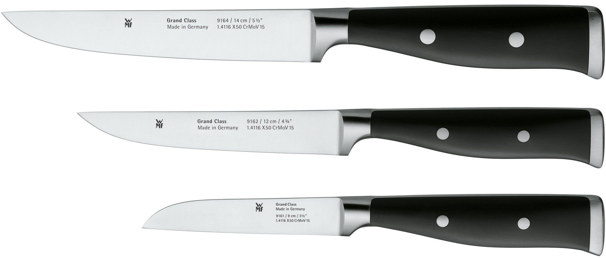 WMF Messer-Set, 3-teilig, »GRAND CLASS«
