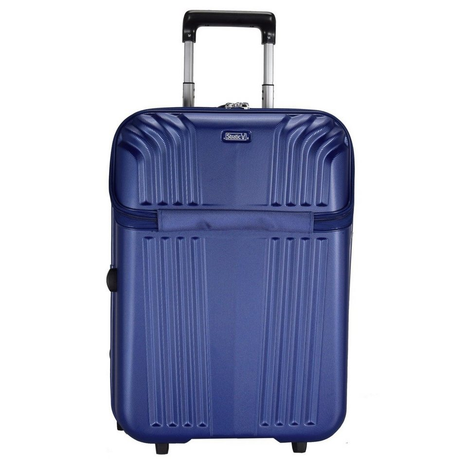 Stratic Cone 2-Rollen Kabinentrolley 55 cm in blau