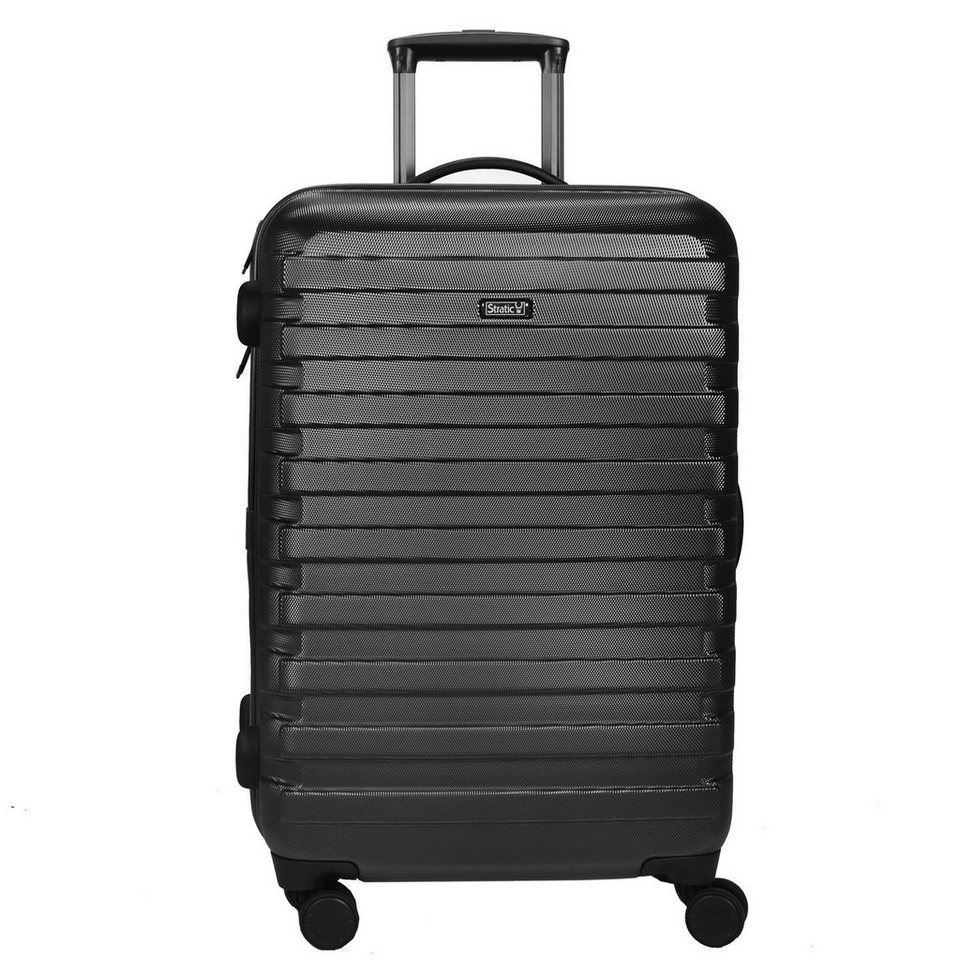 Stratic Retro Trolley 4-Rollen 65 cm in schwarz