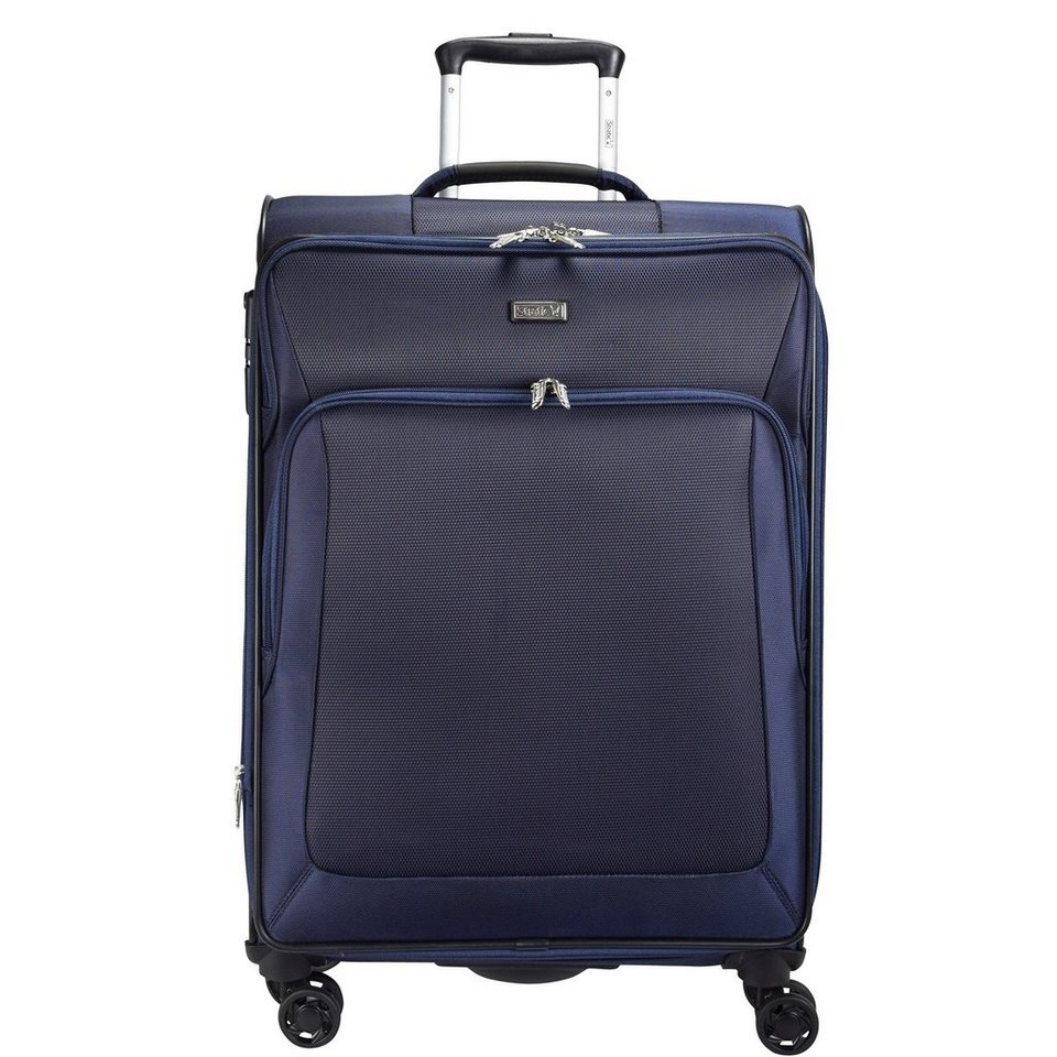 Stratic Stratic Slight Trolley 4-Rollen 79 cm in navy