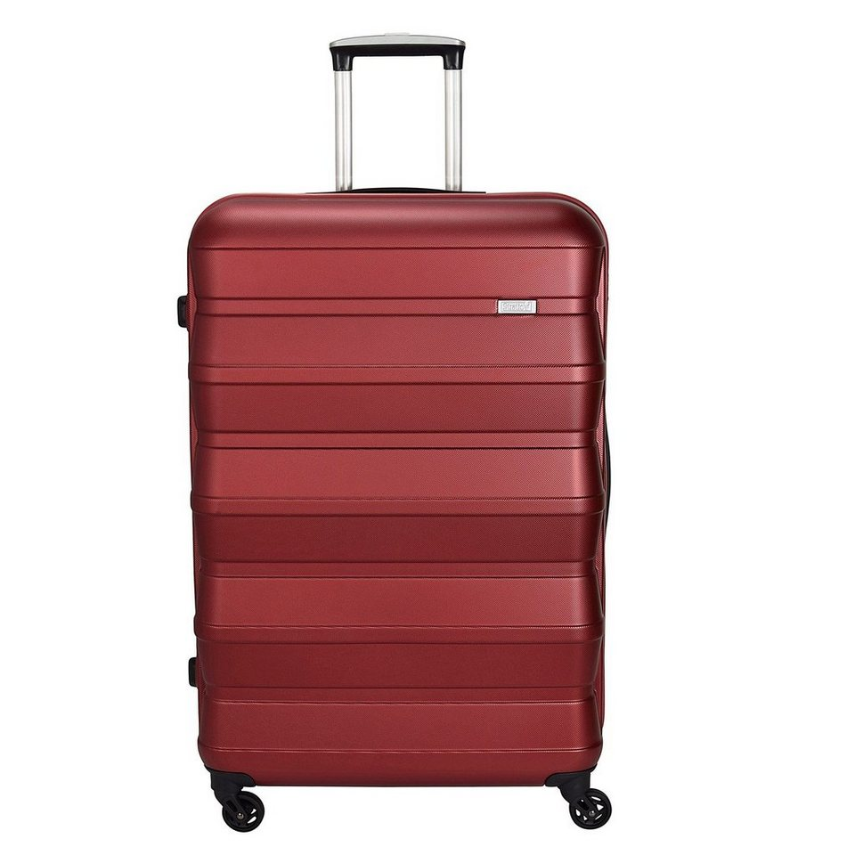 Stratic Pile 4-Rollen Trolley 66 cm in rot