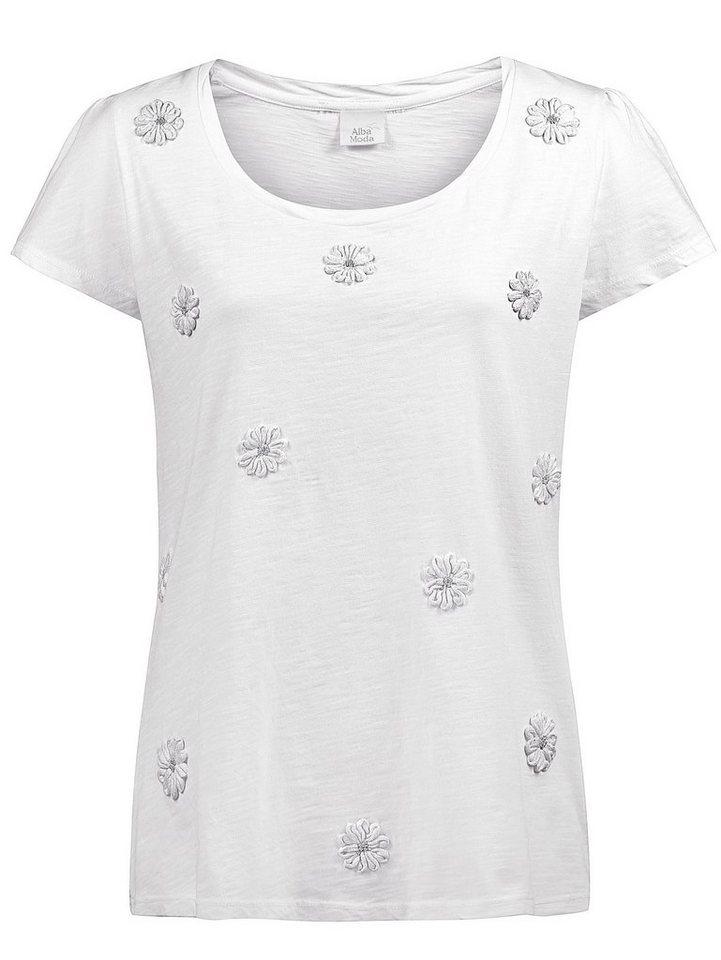 Alba Moda Shirt in weiß