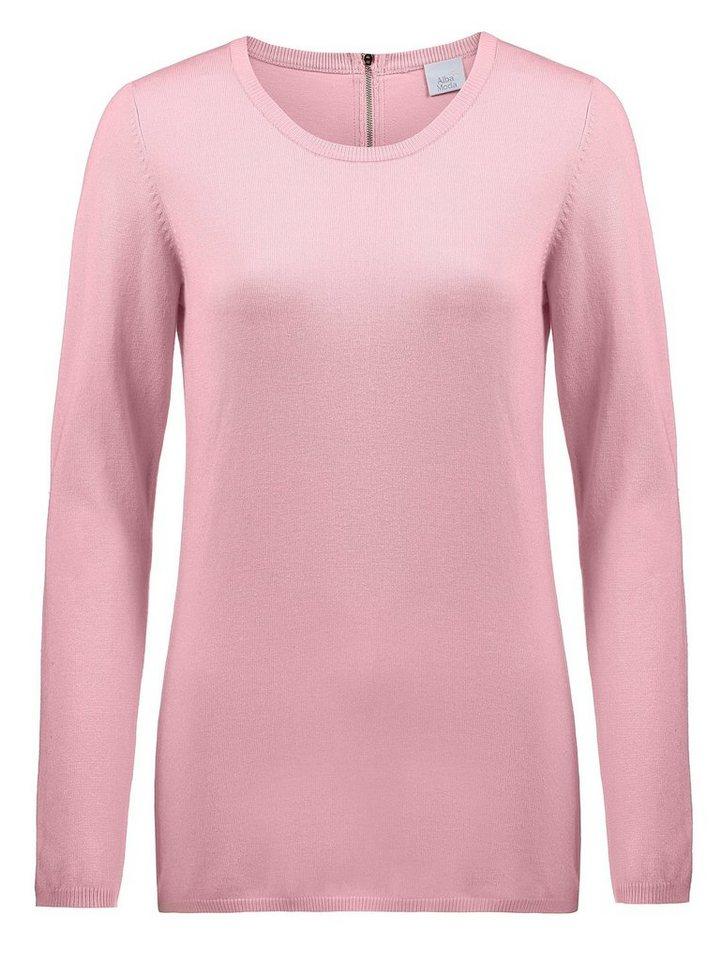 Alba Moda Pullover in rosé