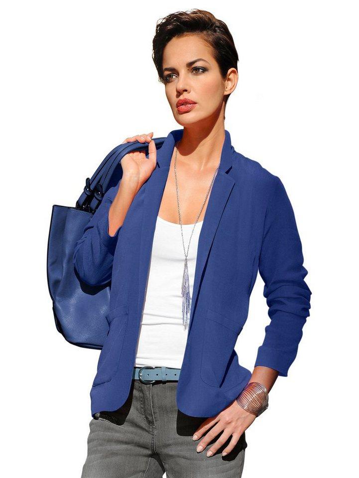 Alba Moda Blusenblazer in blau