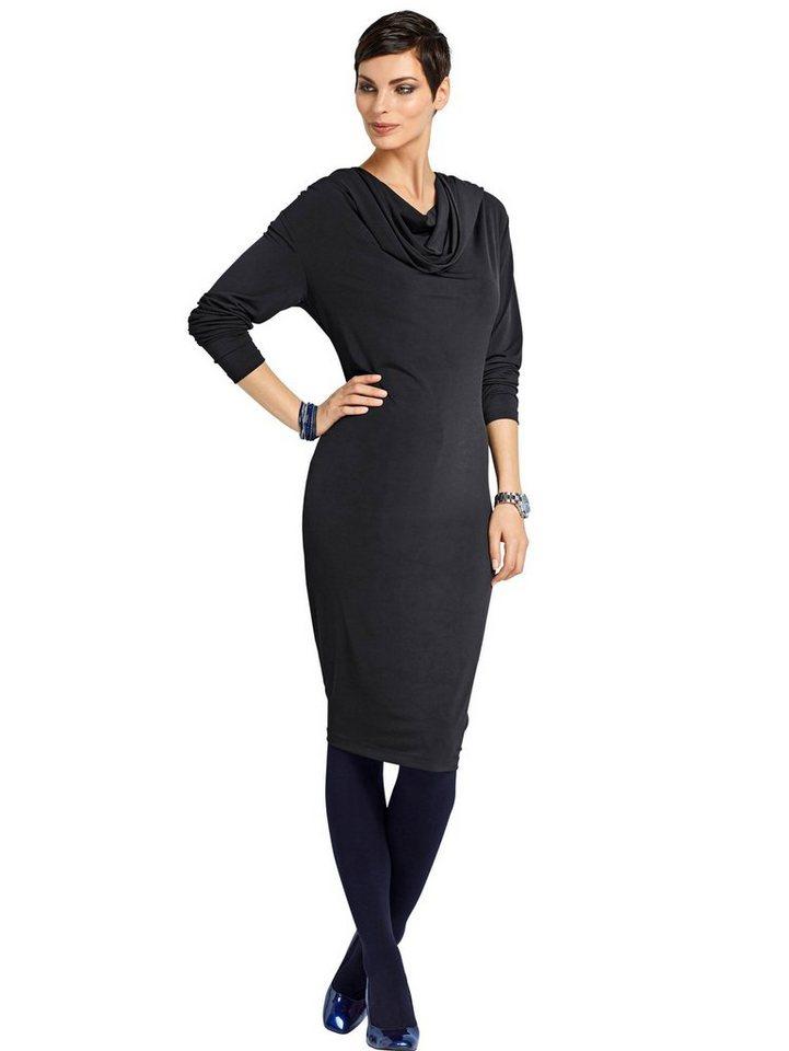 Alba Moda Jerseykleid in schwarz