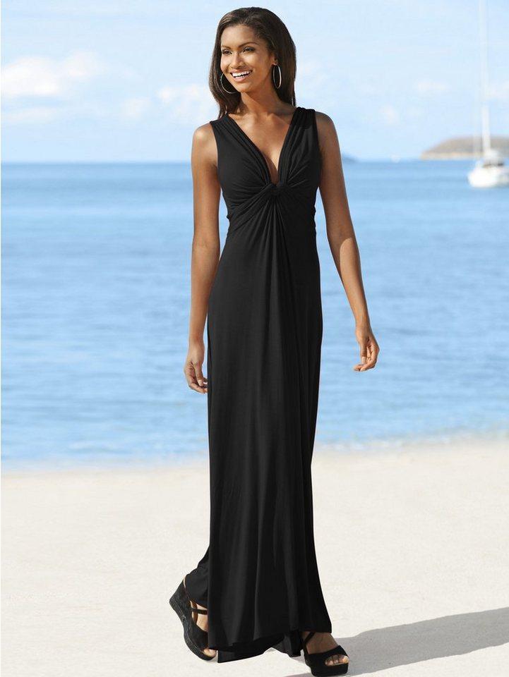 Alba Moda Strandkleid in schwarz