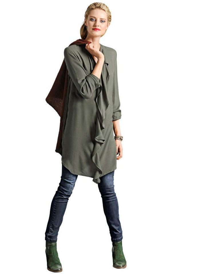 Alba Moda Kleid in khaki