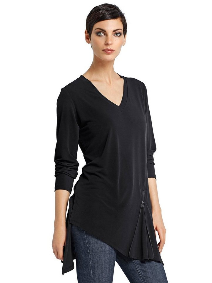Alba Moda Shirt in schwarz