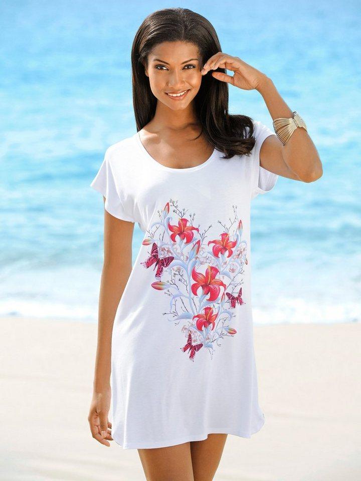 Alba Moda Longshirt von ALBA MODA in weiß