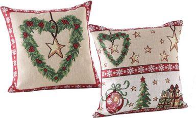Kissenhülle »Weihnachtszeit«, Dreams, 2er Set