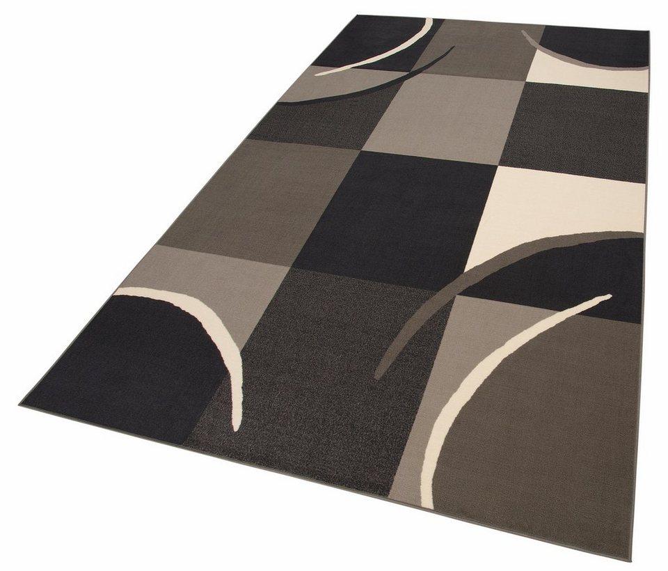 Teppich, Theko, »Marco«, 6 mm, maschinell getuftet in grau