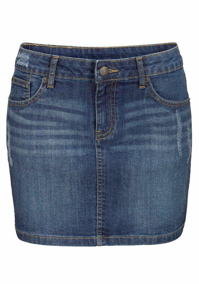 Buffalo London Jeansrock in jeansblau
