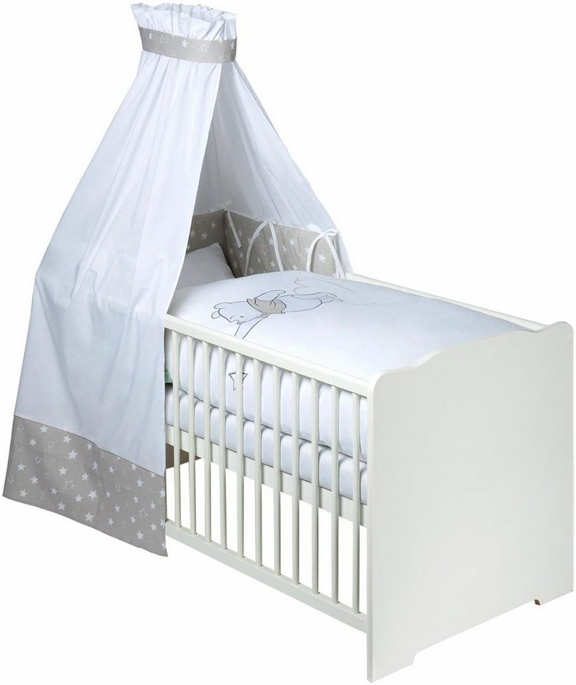 disney baby 7 tlg komplettbett babybett matratze. Black Bedroom Furniture Sets. Home Design Ideas