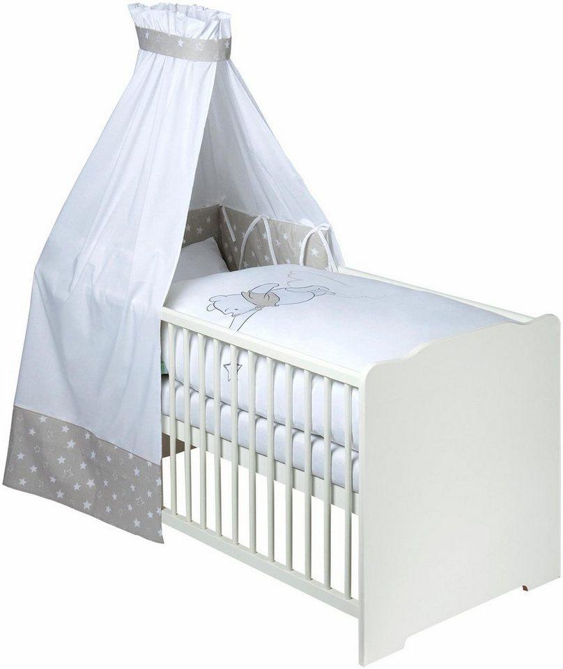 Disney Baby 7 Tlg Komplettbett Babybett Matratze Himmelstange Himmel Nestchen Bettwäsche Bettausstattung Mit Pooh Mein Stern Design Online
