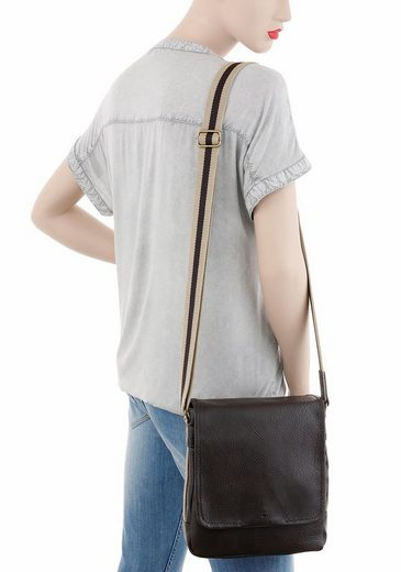 Tom Tailor Umhängetasche Kentucky, Crossbody Bag ideal für Städtetrip