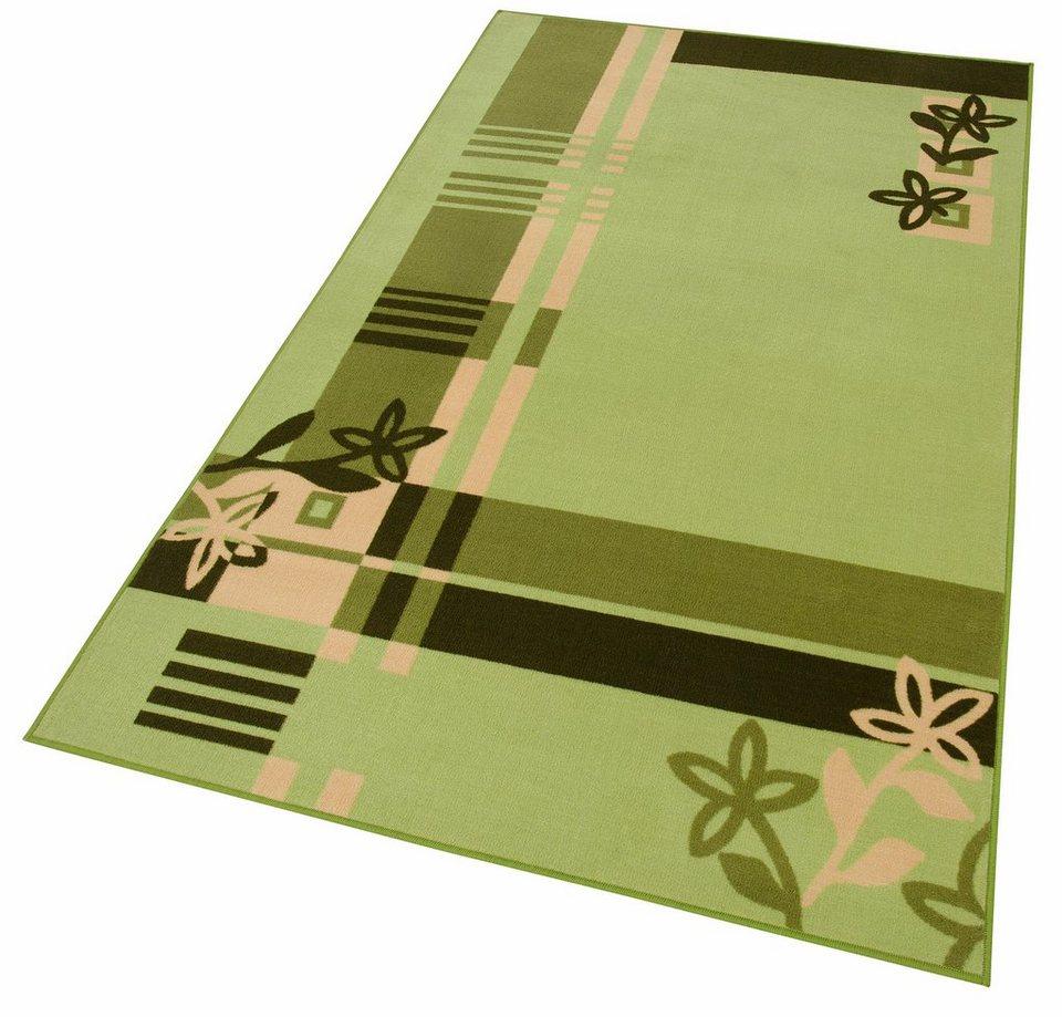 Teppich, »Ole«, maschinell getuftet in grün