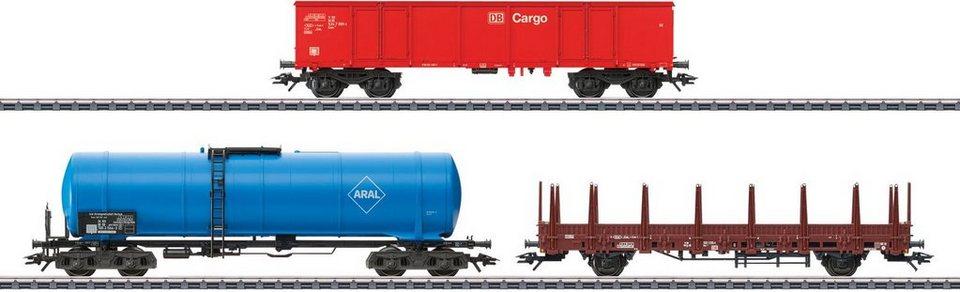 Märklin Güterwagenset, Spur H0,  Moderner Güterverkehr, DB AG, Wechselstrom - 46190  online kaufen