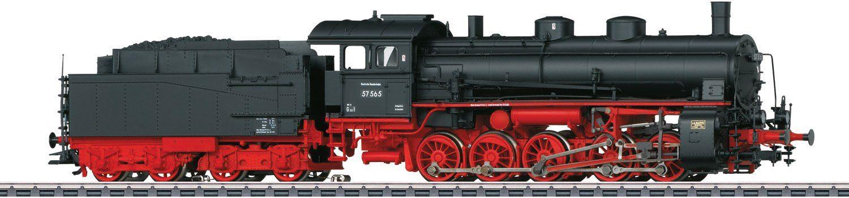 Märklin Dampflok mit Sound, Spur H0 - 39554, »Güterzug Lok mit Schlepptender, BR 57.5, Wechselstr