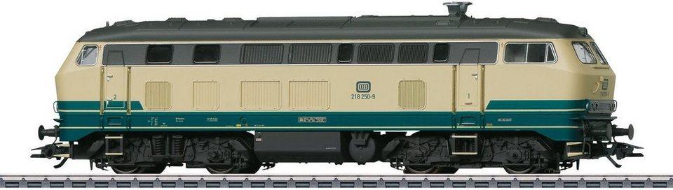 Märklin Diesellokomotive mit Sound, Spur H0, »Elektrolok, BR 218, DB, Wechselstrom - 39186«