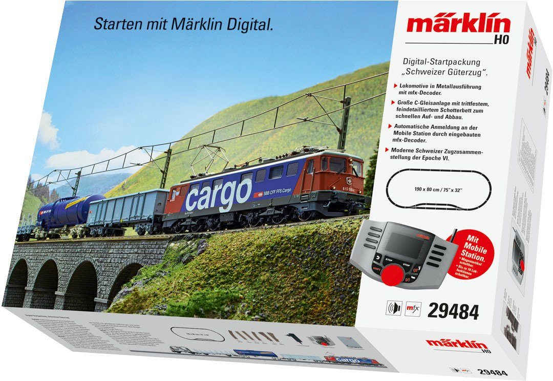 Märklin Digitalset, Spur H0, »Startpackung, Schweizer Güterzug, Wechselstrom - 29484«