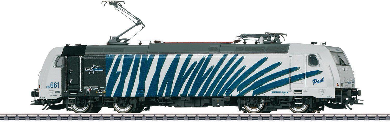 Märklin Elektrolokomotive mit Sound, Spur H0, »Elektrolok BR 185.6, Zebra, Wechselstrom - 37468«