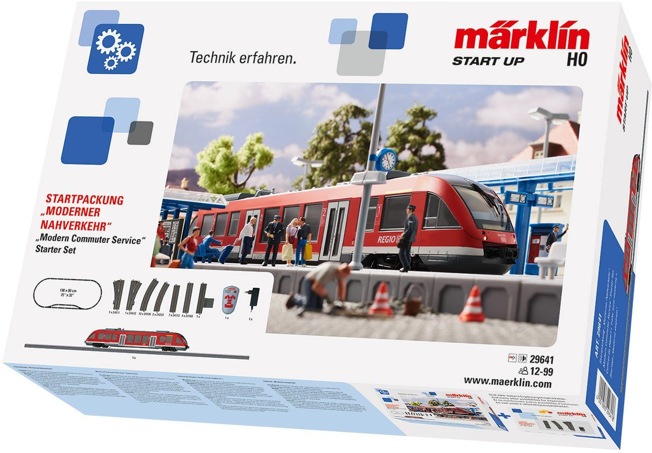 Märklin Digitalset, Spur H0, »Märklin Start up, Startp.,Moderner Nahverkehr, Wechselstr. -29641«