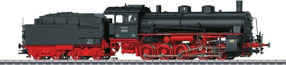 Märklin Dampflok, Spur H0 - 39552, »Güterzug Lok mit Schlepptender BR 57.5, DB AG, Wechselst